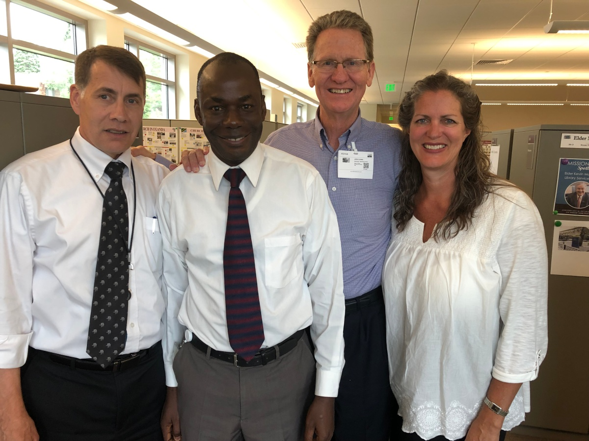 Meeting with West Africa ChurchHistorians