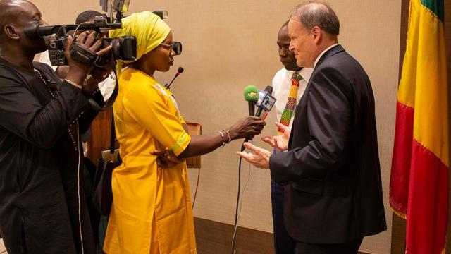 2019-9-12 Official Recognition in Mali