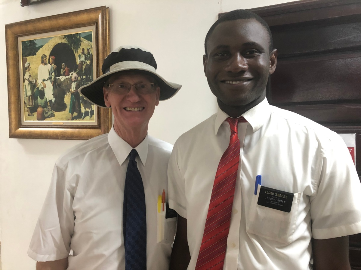 Meet Elder Joseph Gbedze from Ghana