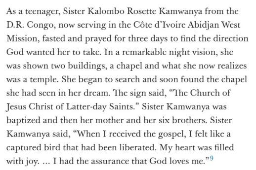 Sister Kamwanya from DRCongo