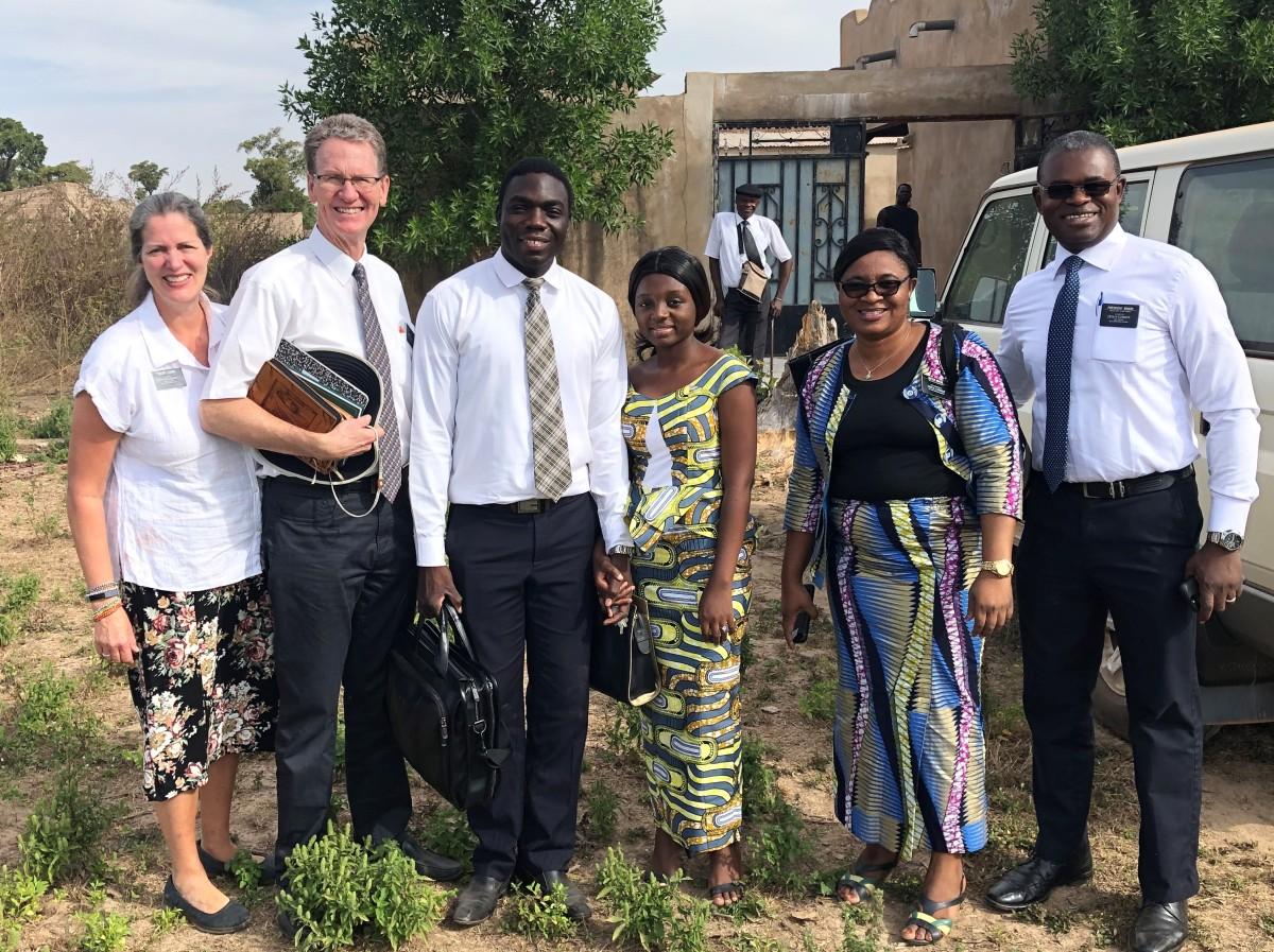 Attending Church inFarako