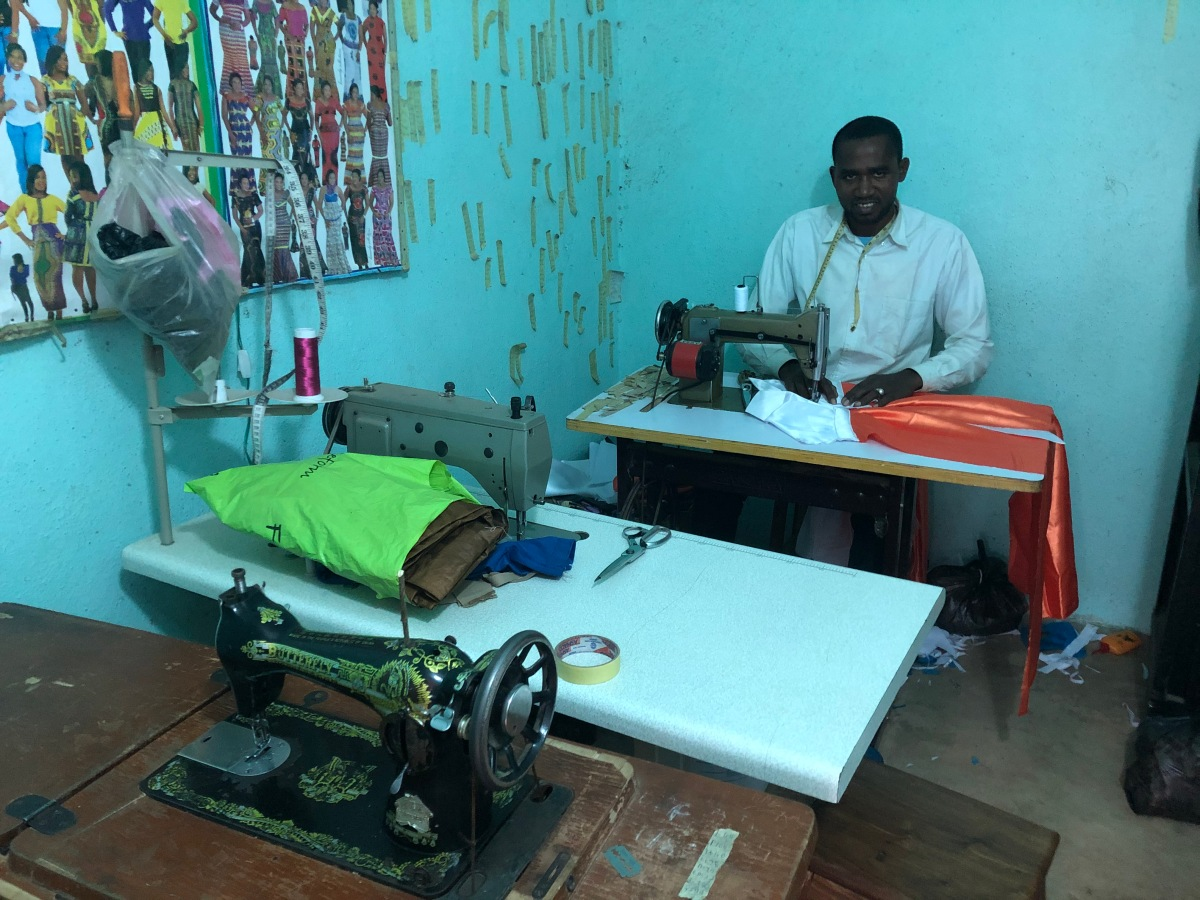 A local tailor