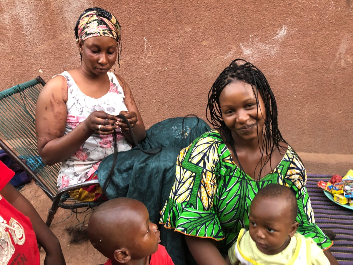 A Local Barber and some Women's Hairstyles