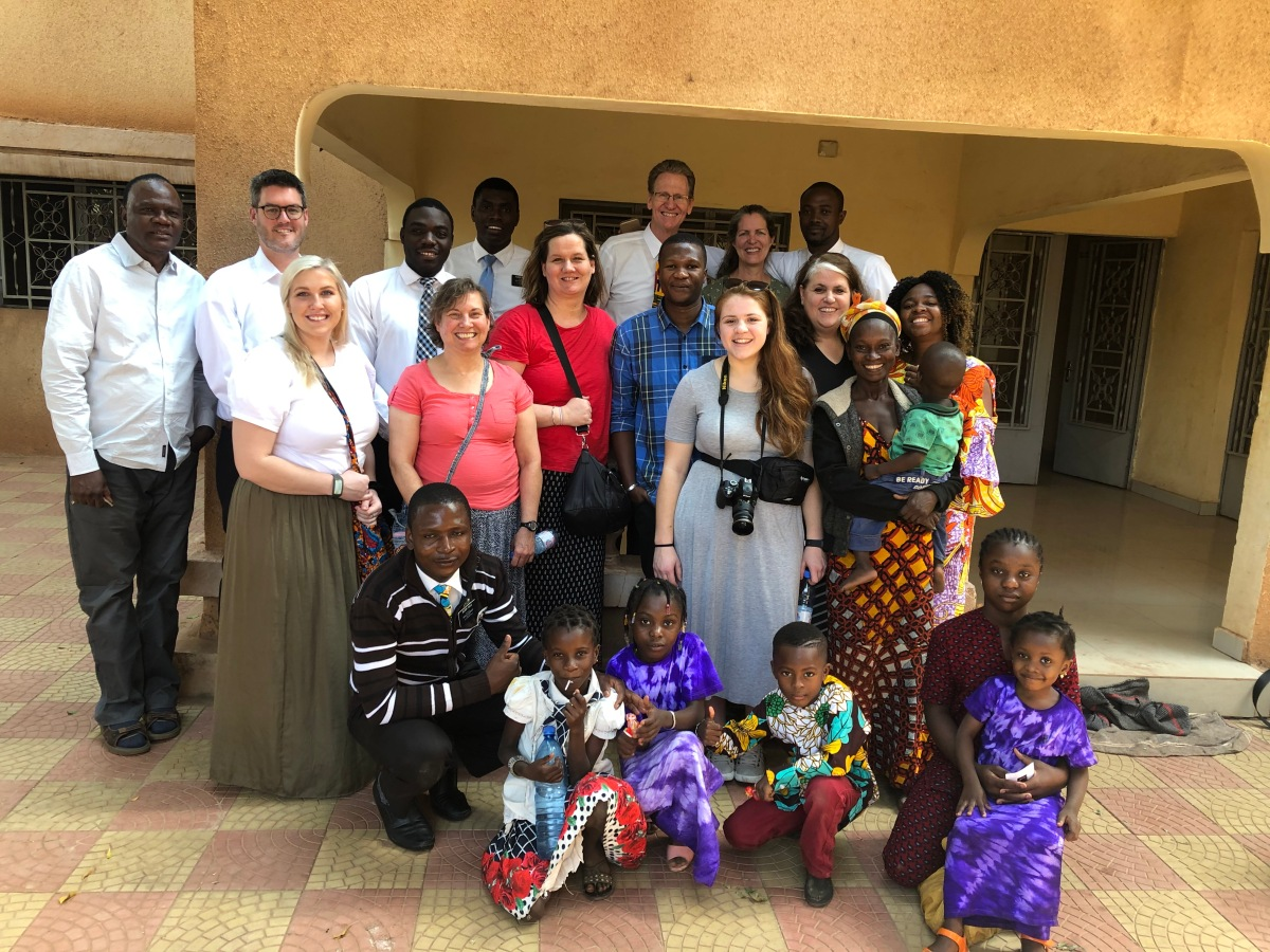 Sunday in the Bamako Branch with a Ouelessebougou Alliance Expedition