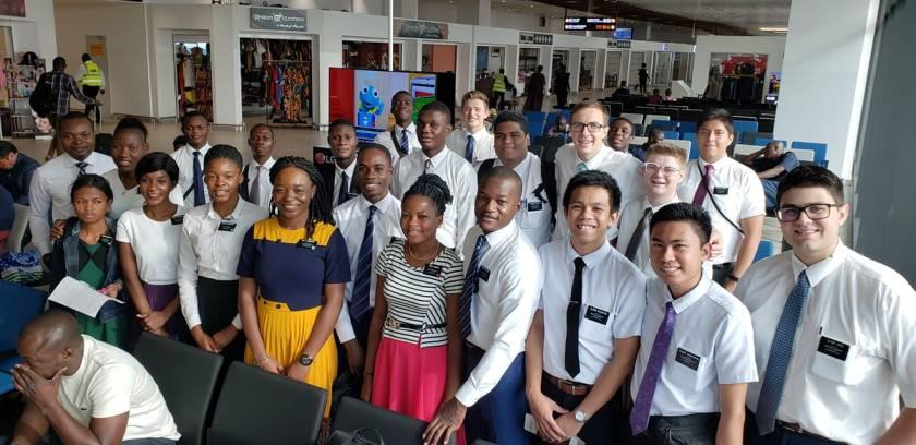2020-1-14 Saunvee in Accra Airport