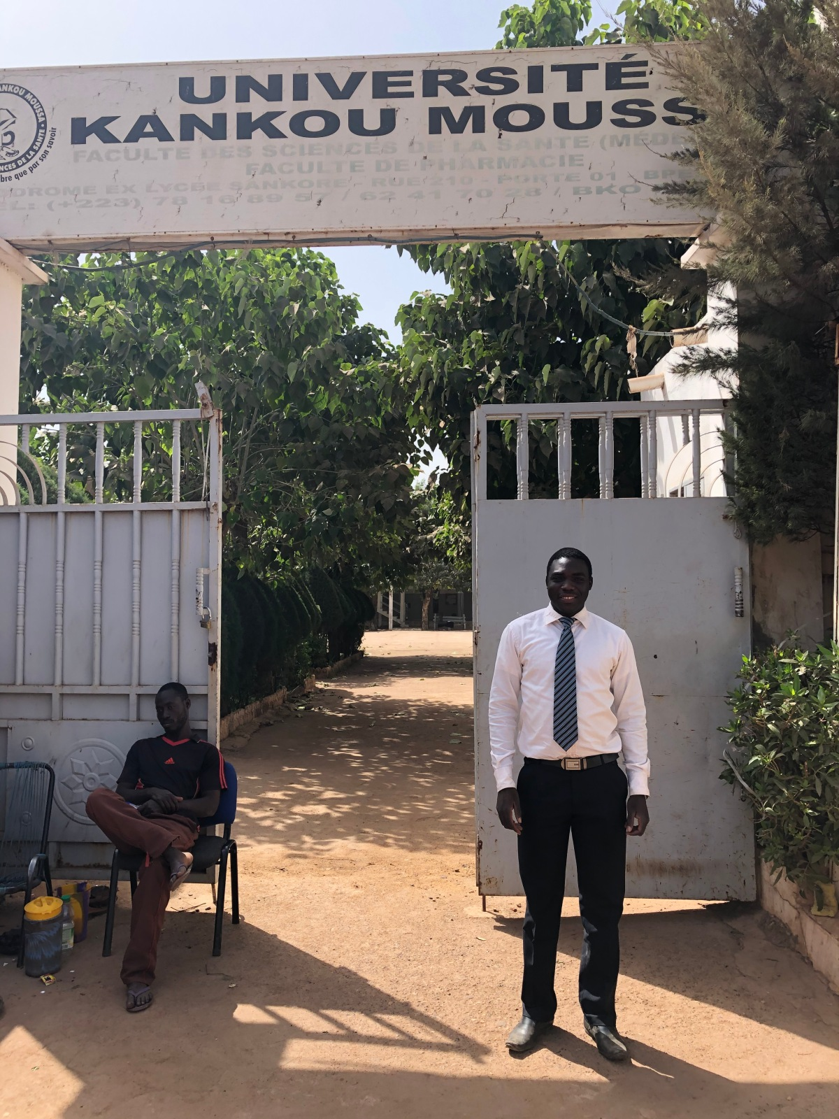 Sekou's Medical School in Bamako
