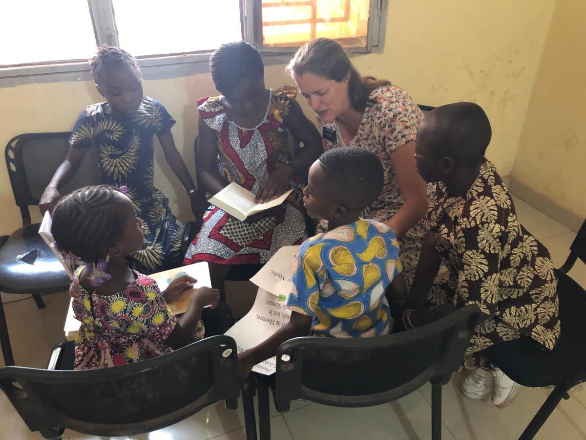 Teaching the Children — Primary inBamako