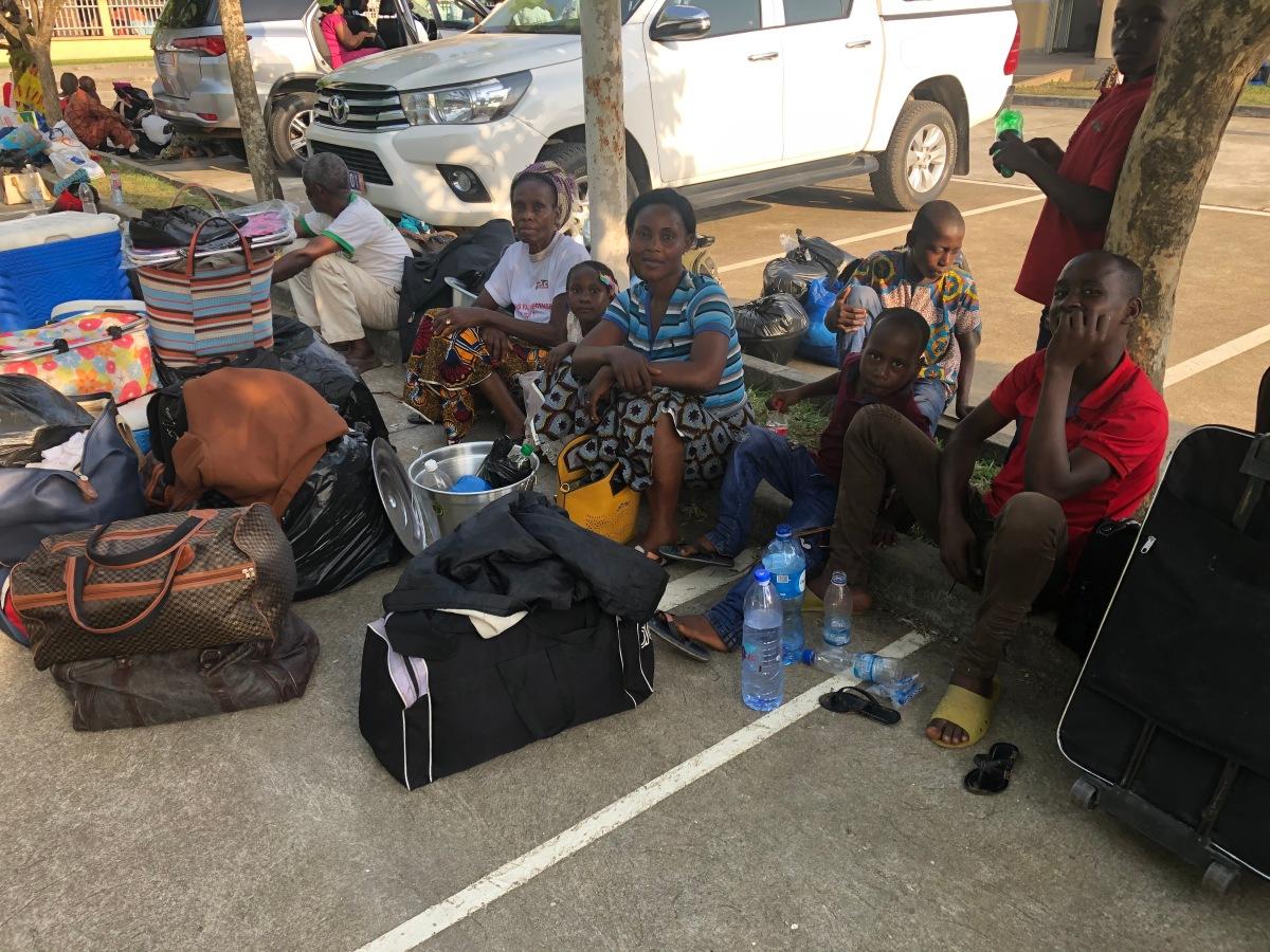 The Abidjan Group Temple Trip BusesReturn