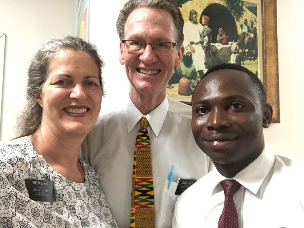 Elder Ilori, Mission FinancialSecretary