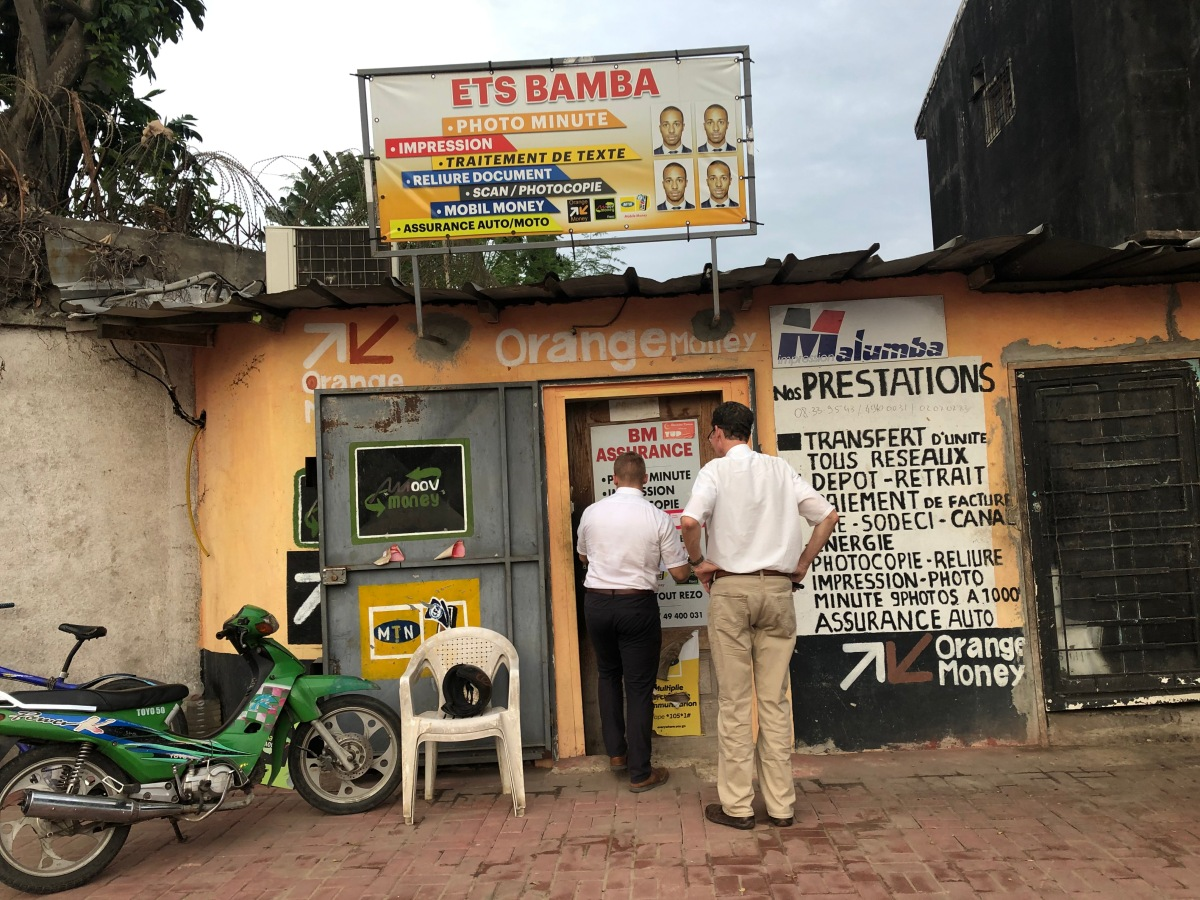 Mobile Money Transfer  (Venmo, African Style)