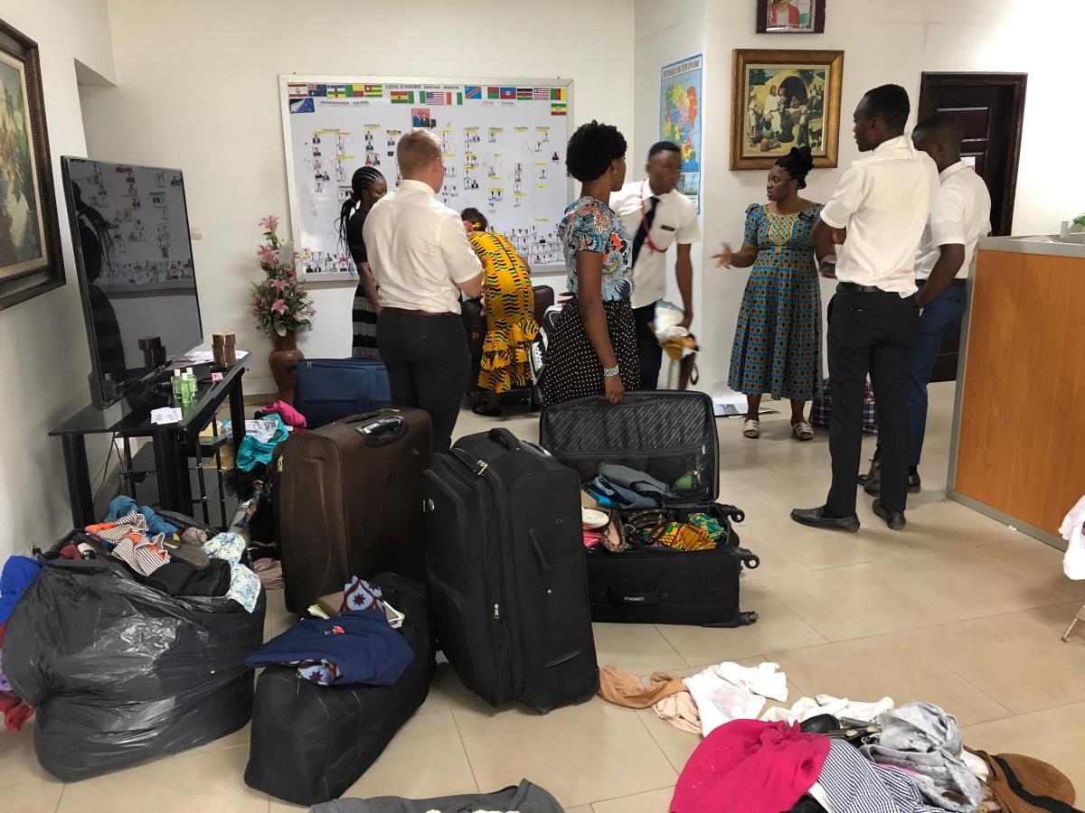 Departure Preparations Continue