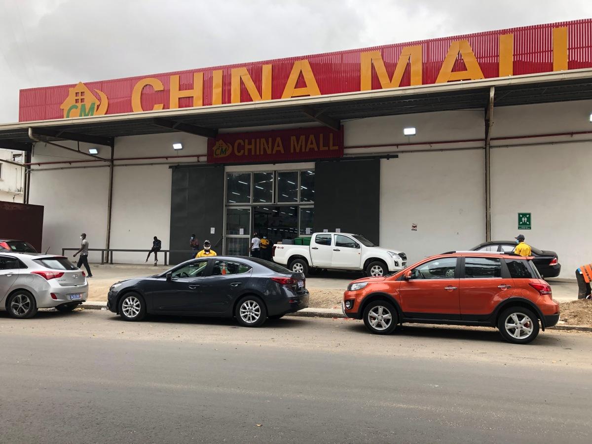 China has come toAbidjan!