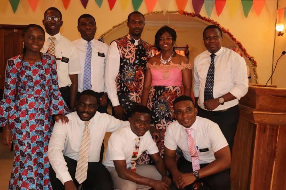 Celebrating in Bamako!