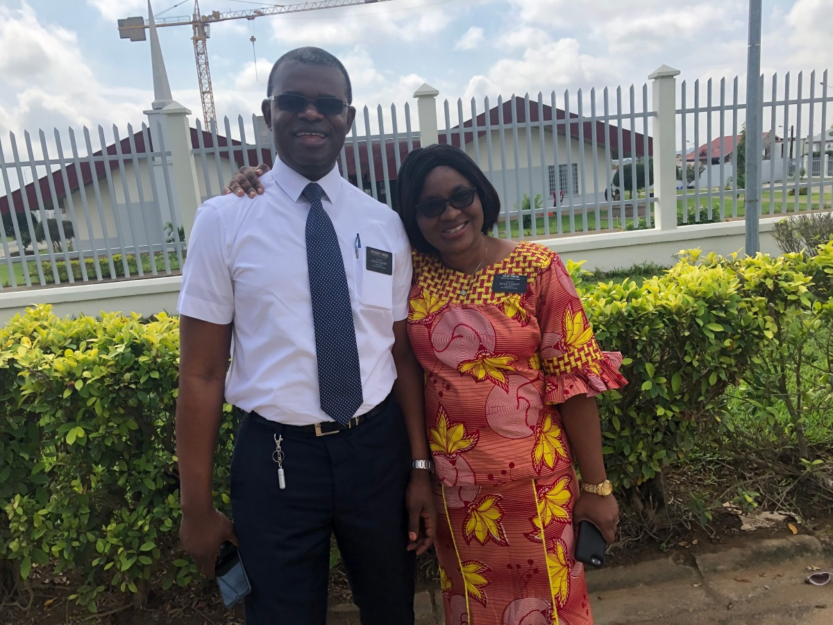 My Desire to Serve a Full-Time Mission —  President Sabwe Binene's Story