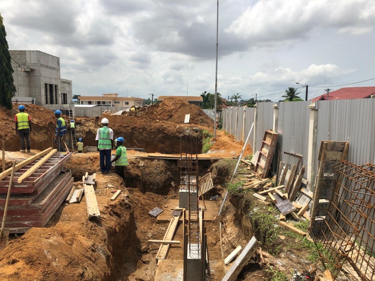 Abidjan Temple Progress