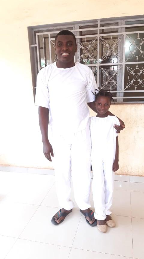 2020-7-26 Baptism Bamako Adeles daughter (1)